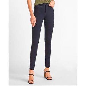 Express Jeans Ankle Stella Low Rise Skinny Jeans